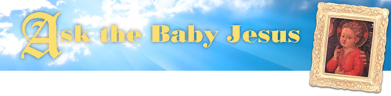 Ask The Baby Jesus header image 2